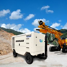 Doosan Portable Power Air Compressor
